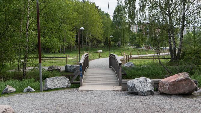 Bro över Igelbäcken